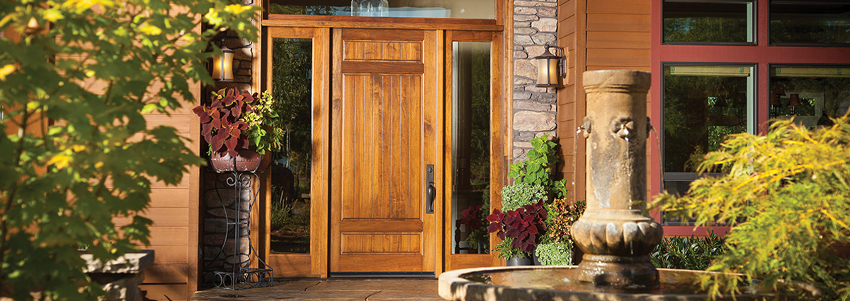 Every Rogue Valley Door can have matching handcrafted millwork. The millwork is a fantastic finishing touch and can bring together the design of every door ... & Rogue Valley Doors - JB Sash u0026 Door pezcame.com